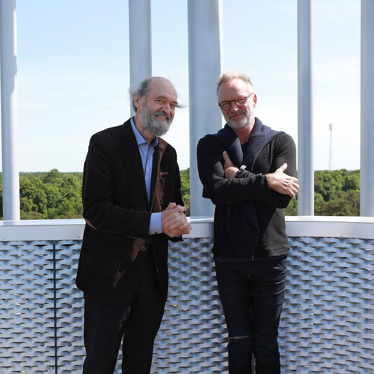 Zenetörténeti pillanat: Arvo Pärt és Sting találkoztak